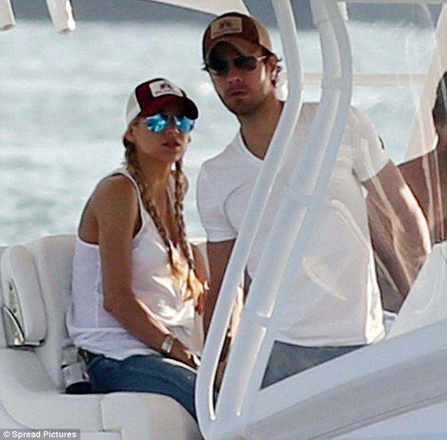 sexy girlfriend boat ride