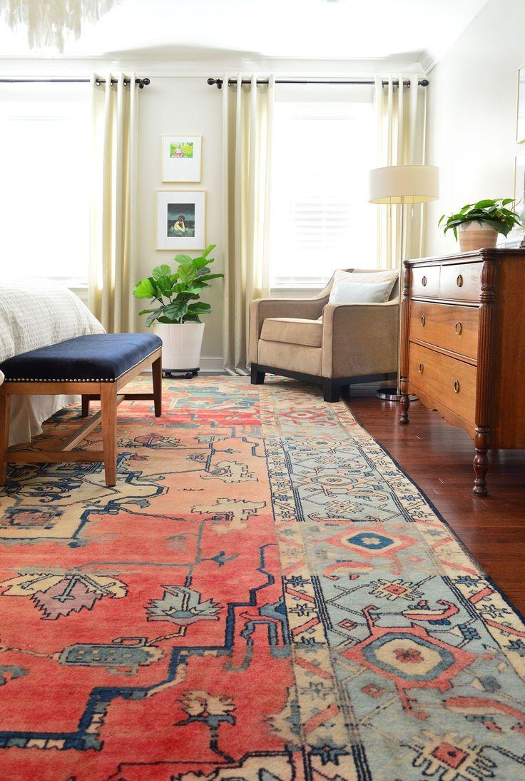Amazing bedroom rug find!