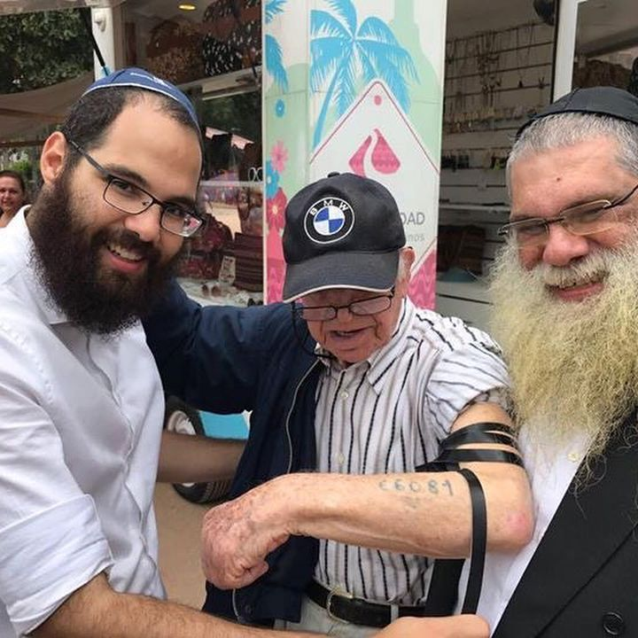 "4,124 Likes, 75 Comments - Humans of Judaism (@humansofjudaism) on Instagram: ""One of today's most exciting moments at Rio's Jewish festival, 'Fest Rio Judaico'. Putting on…"""
