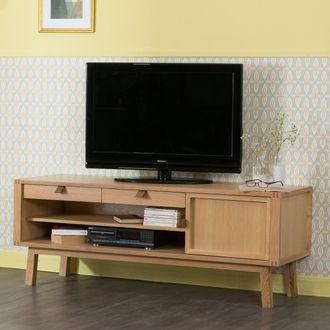 1000 id es sur le th me meuble tv chene sur pinterest meuble tv meuble et meuble tv chene massif. Black Bedroom Furniture Sets. Home Design Ideas