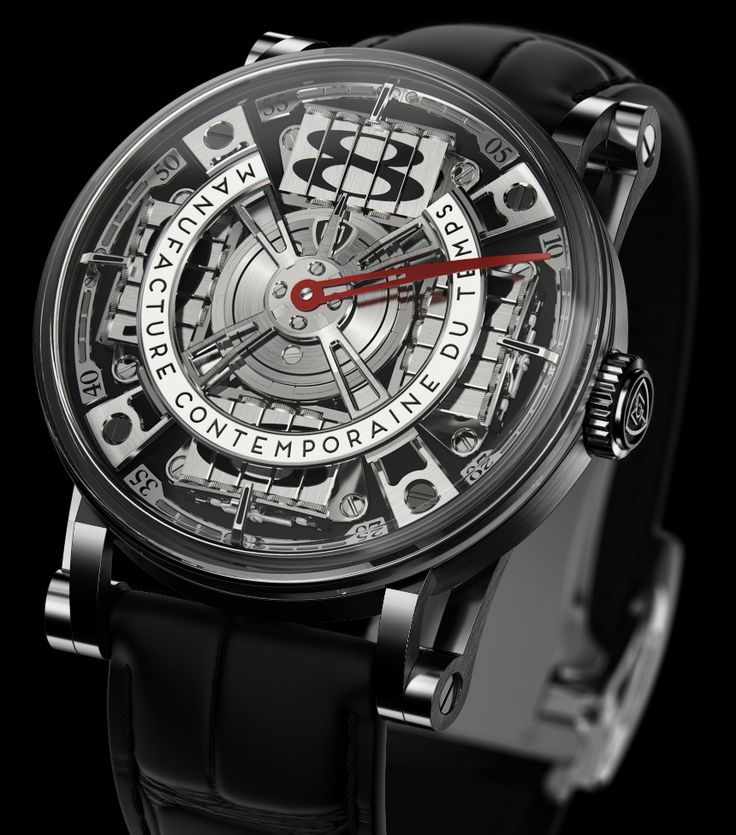 """MCT Sequential Two S210 Watch - by Zach Pina - on aBlogtoWatch """"When it comes to the schools of daring, avant-garde watchmaking, MCT (for Manufacture Contemporaine du Temps) might not be the first name that comes to mind, but it probably should be on the shortlist. Just in time for Baselworld 2016, the brand has dropped details on the MCT Sequential Two S210 – the latest evolution of 2009's wild Sequential One, that delivers on the same rotating shutter-based hour display..."""""""