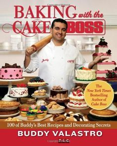 Baking with the Cake Boss: 100 of Buddy's Best Recipes and Decorating Secrets by Buddy Valastro is a rare treat--a fun, accessible guide to baking, all in a gloriously designed, fully illustrated package worthy of the Cake Boss's artistic vision. Find this book in the Library in the Adult NonFiction Collection @ Call #:641.8653 VAL.