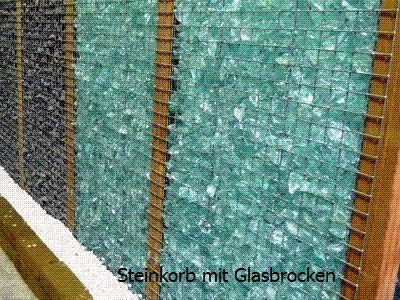 MENZ Naturbaustoffe - Beispielfotos Gabionensteine Preise