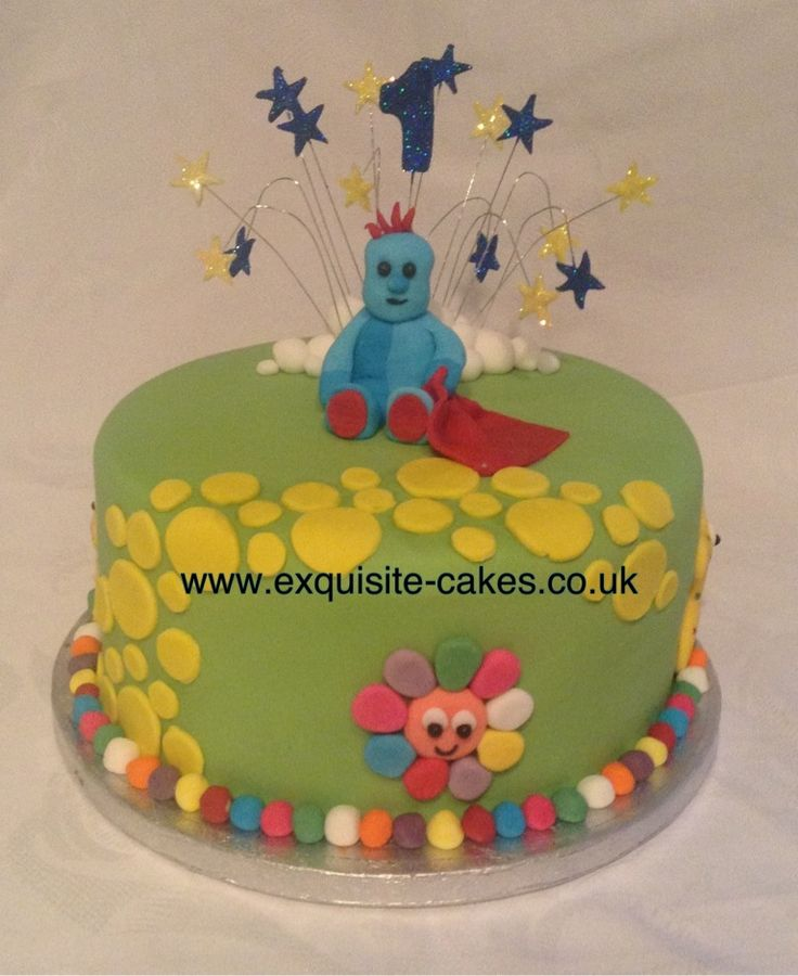 20 best images about night garden on pinterest for In the night garden cakes designs