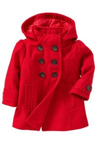 This adorable red Peacoat is from @Gymboree. We have paired it with the Baby Wisp Fiorella Flower on a Gator Clip which you can fine here: http://www.babywisp.com/proddetail.php?prod=GATOR-FIORELLA