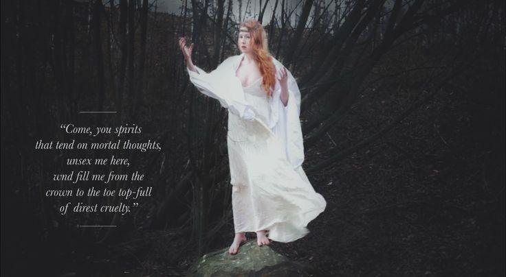 Tekla as Lady Macbeth by Majken Stenberg