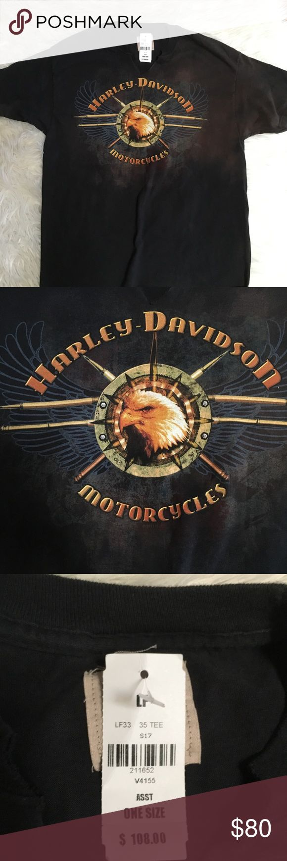 NWT LF Harley Davidson shirt This is a Harley Davidson shirt from LF. The brand is Furst Of A Kind. Texas themed, with vintage inspired discoloration and look. Super cool! LF Tops Tees - Short Sleeve