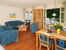 Ferienwohnung für 5 Personen (55 m²) mit Sauna und Meerblick in Ahlbeck