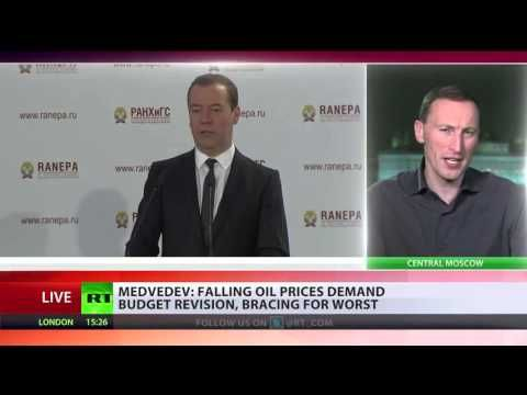 Russian News Today in English  Medvedev  Falling oil prices demand budget revision  bracing for wors - http://bestnewsarchive.ca/russian-news-today-in-english-medvedev-falling-oil-prices-demand-budget-revision-bracing-for-wors/