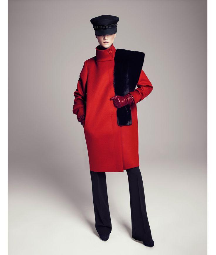 1000  images about Coats on Pinterest | Rabbit fur jacket Fur and