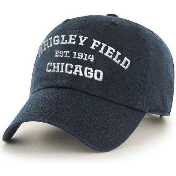 Wrigley Field Adjustable Navy Deuce Cap  #ChicagoCubs #Cubs #FlyTheW #MLB #ThatsCub #WrigleyField