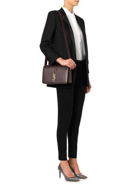 ysl black leather handbag - monogram saint laurent universite bag in bordeaux leather