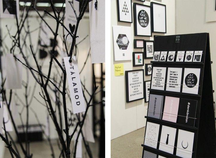 Beautiful products by SB Studio #nordicdesigncollective #formex #formexfair #designfair #stockholmsmassan #fair #nordic #design #sbstudio #sabinabotin #postcard #paper #print #posters #designer