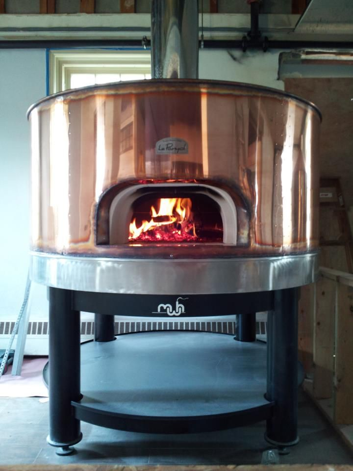Copper Wood Fired oven - Vault Brewing Co.