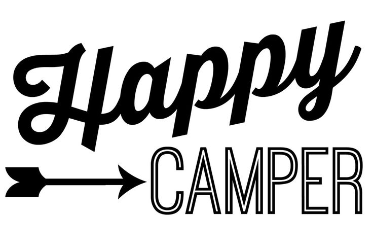 Happy Camper: A DIY Sign - Lovely Etc.