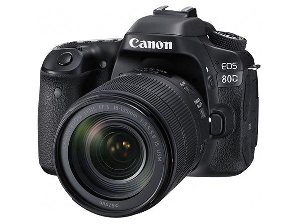 """キヤノン:本格的な静止画撮影性能と動画撮影時における優れた操作性を両立 デジタル一眼レフカメラ""""EOS 80D""""を発売"""