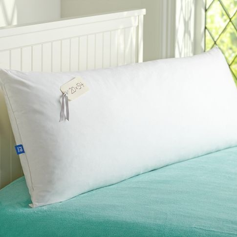 Perfect dims for a long pillow on a queen bed (20×54)   – Bedrooms and Closets