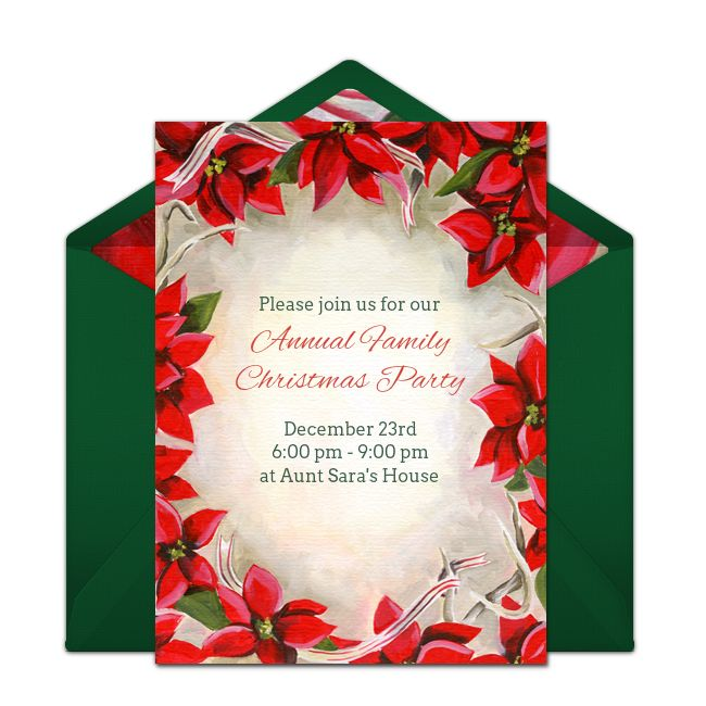 209 best images about Free Party Invitations – Christmas Party Email Invitations