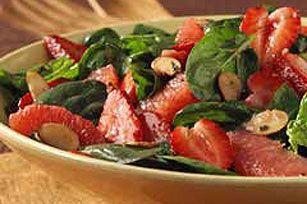 Spinach, Strawberry and Grapefruit Toss recipe #kraftrecipes
