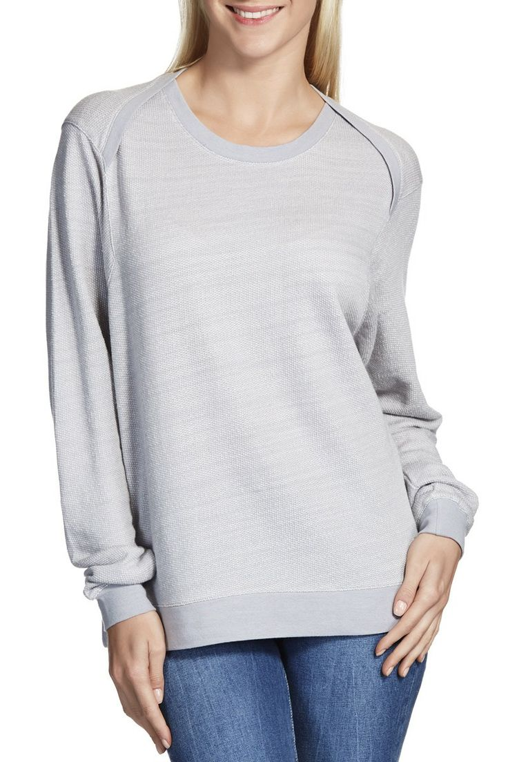 Twisted Shoulder Pullover