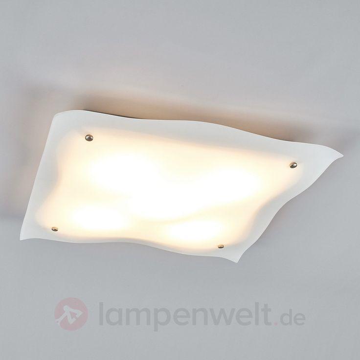Kiliana - LED-Deckenlampe aus Glas kaufen   Lampenwelt.de
