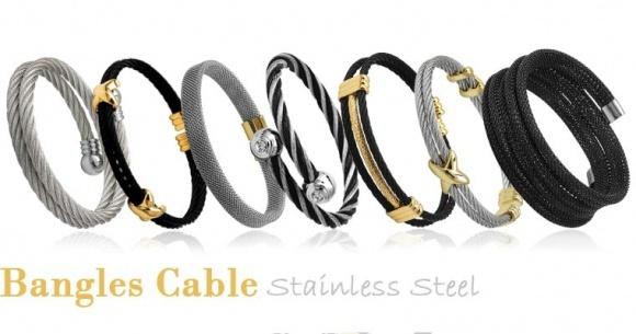 Steel bangles