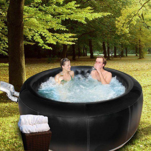 Portabler Whirlpool für Innen oder Draußen bereitet große