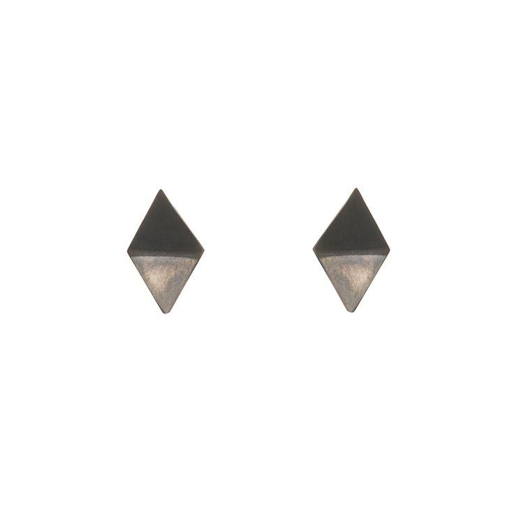 ORIGAMI / EAR / OXIDIZED / MICRO maleneglintborg.com
