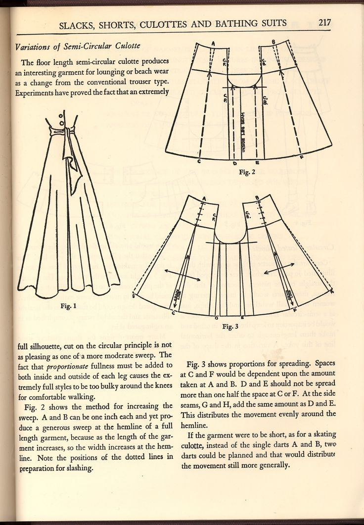 "How to make wide-legged pants.  Website has more under the tag ""summer pants."""