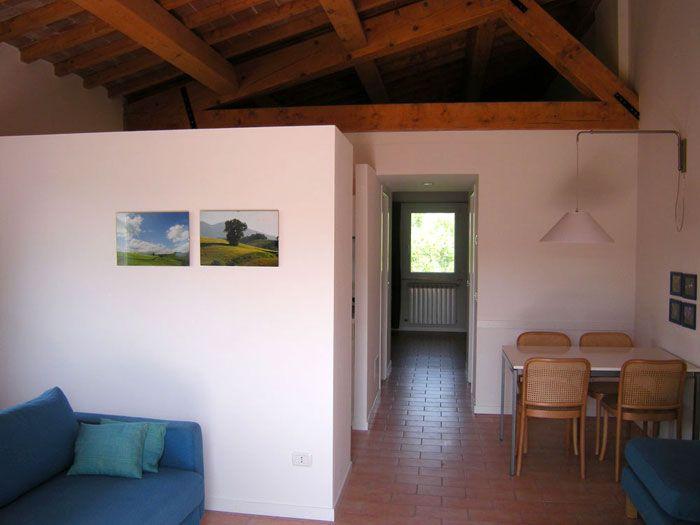 Casina dei Tordi apartment with amazing views to Le Marche countryside - Urbino www.vallenuova.it