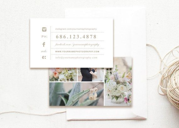17 best business card templates images on pinterest business card instant download business card template wedding photographer moo business cards digital photoshop templates design by bittersweet reheart Choice Image