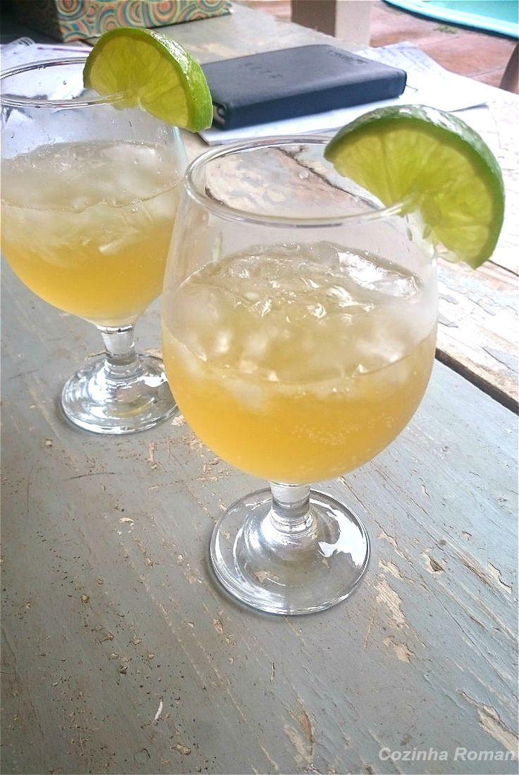 doce spritz - vinho frisante, mel e limão