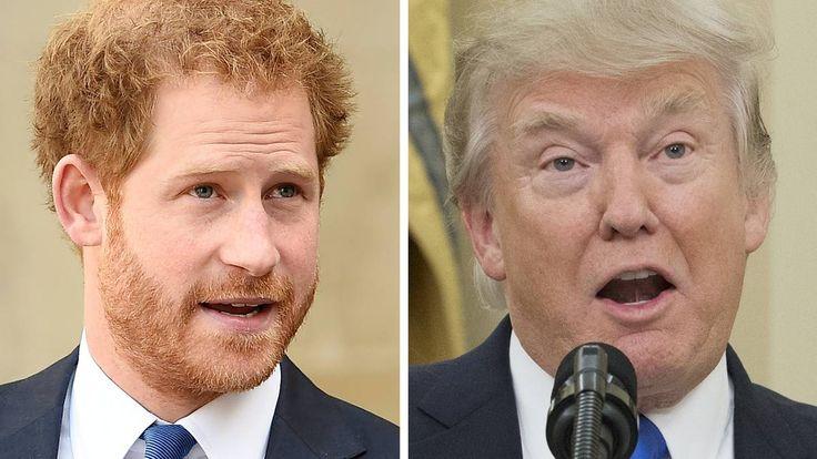 Prinz Harry darf sich offiziell nicht zu Donald Trump äußern: Doch intern soll er mehrfach seine Meinung über den neuen US-Präsidenten kundgetan haben.