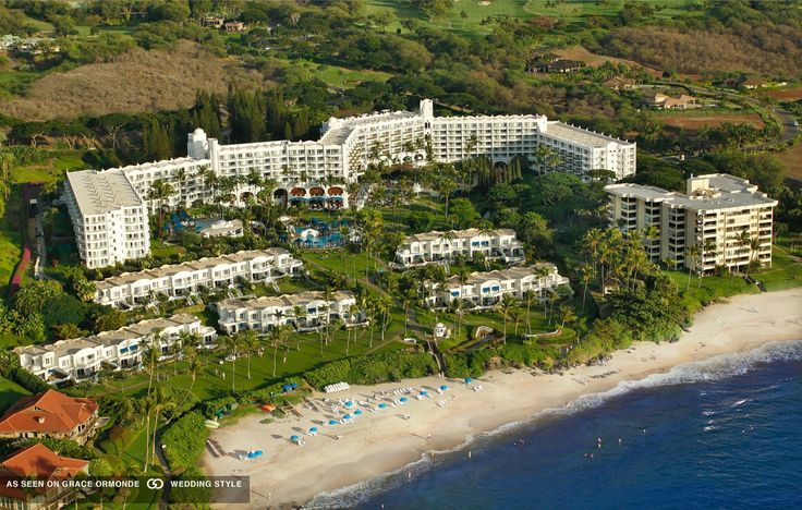The Fairmont Kea Lani, Maui honeymoon and wedding destination