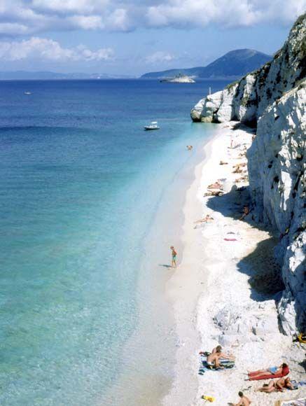 Isola d'#Elba #Italia #spiaggia