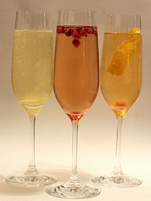 mint love social club: {friday cocktail: champagne cocktail bar} includes 3 different recipes and printables.