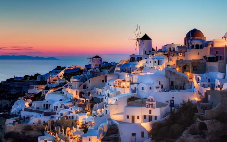 "Number 2 – Santorini, Greece - Everyone has seen a picture of Santorini, and that excitement surrounding this Island is nothing but warranted. Everything is brighter on Santorini, where stark-white houses and blue-domed churches erupt down the sides of an ancient caldera. The Island's most popular attractions include the black sands of Perissa Beach, the richly preserved, prehistoric Akrotíri settlement, best known as the ""Minoan Pompeii,"" and the postcard-worthy sunsets over Oia."