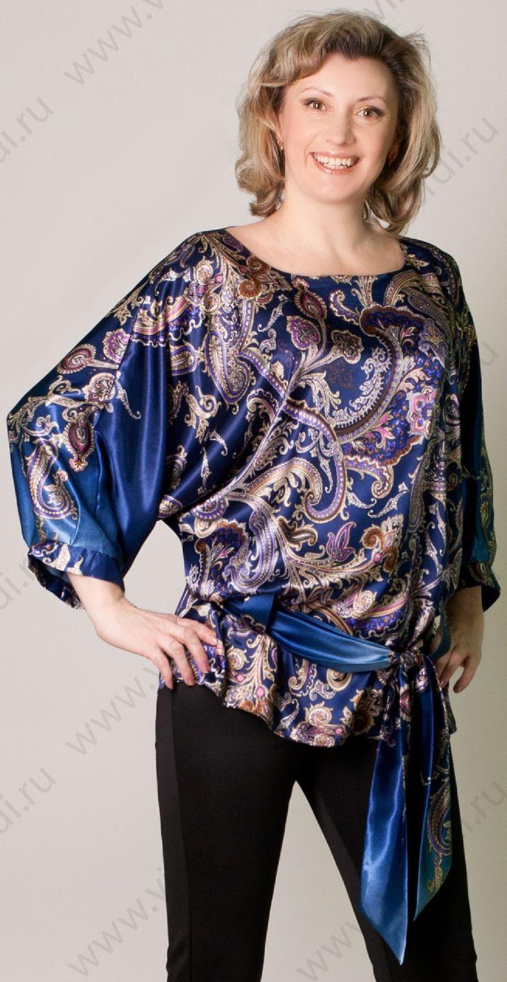 Блузка Роскошь сафари