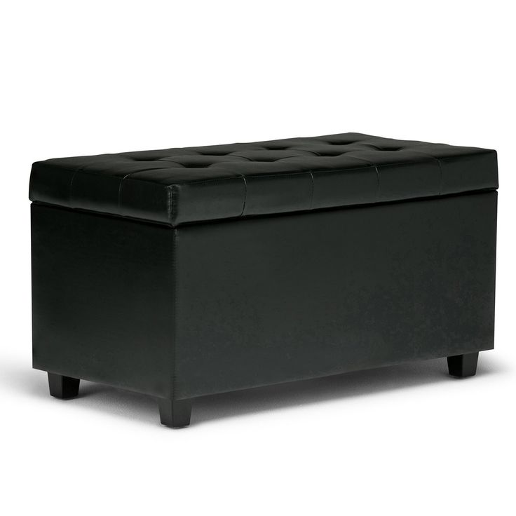 Cosmopolitan Faux Leather Storage Ottoman 15 best