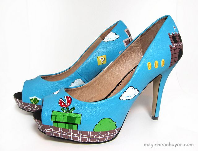 Awesome, Mario shoes!