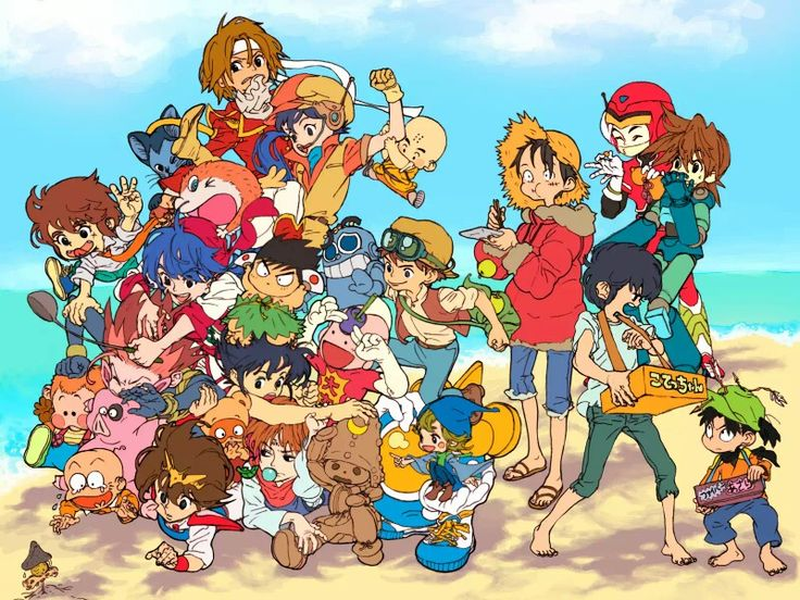 Hd Anime Crossover Wallpaper