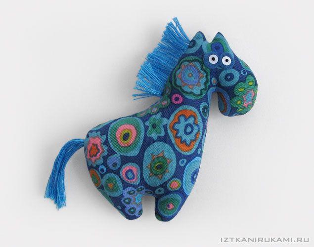 Pferd Brosche