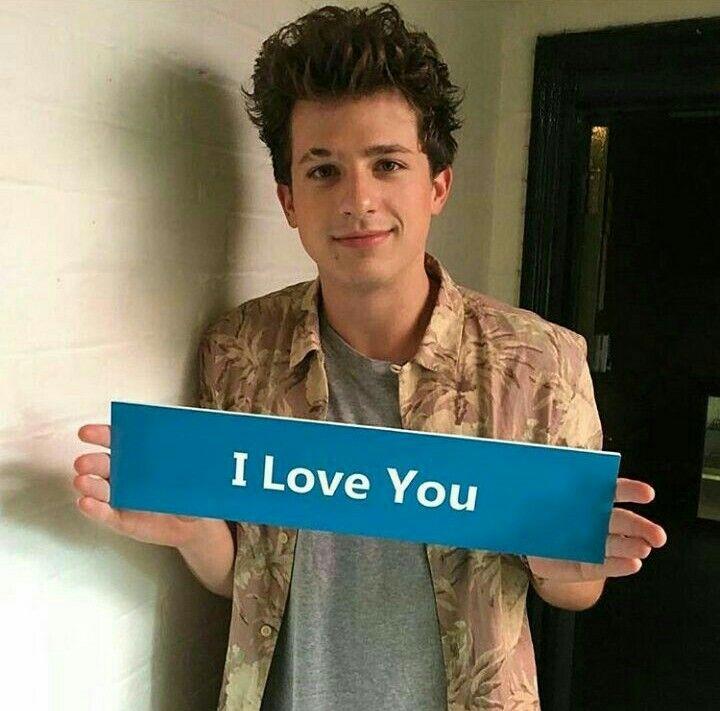 Charlie really u love me????