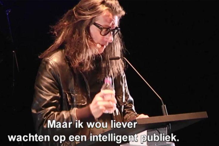 Herman Brusselmans en Tim Vanhamel brengen samen de liefdes- literatuur naar de mensen in C-mine te Genk.