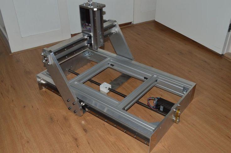 Как собрать самодельный фрезерный станок с ЧПУ + Чертежи и схемы! - Блог…