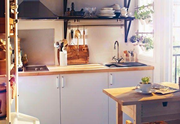 Virlova Interiorismo: [Decotips] Mini cocinas llenas de grandes ideas