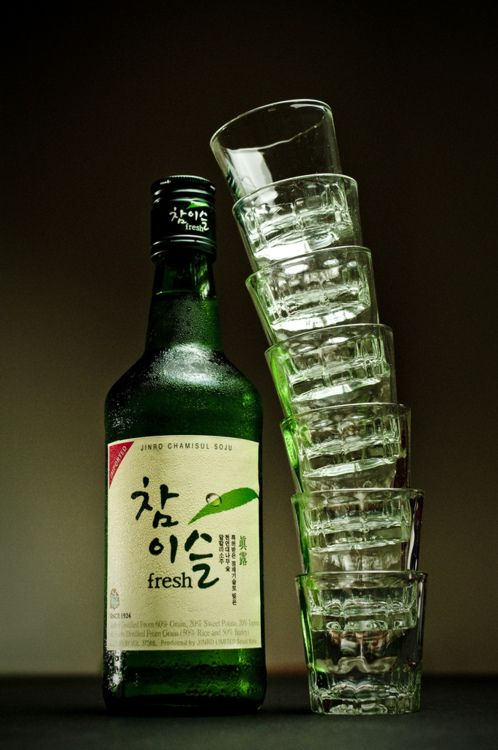 Korean Soju ~ it'll knock you on your butt, fast!!! that and Noju.