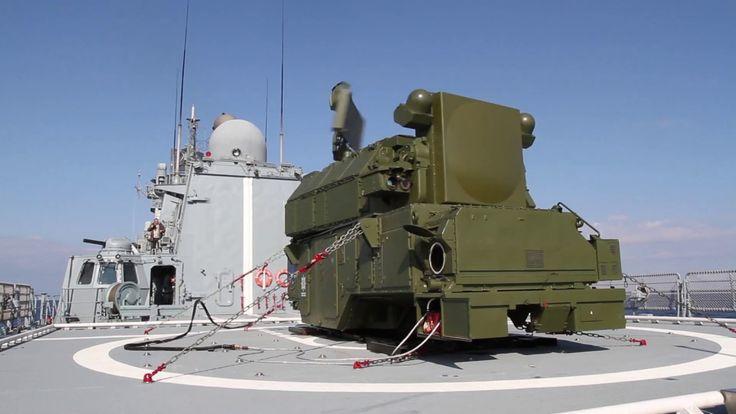 """Испытания зенитного ракетного комплекса """"Тор-М2КМ"""", размешенного на боев..."""