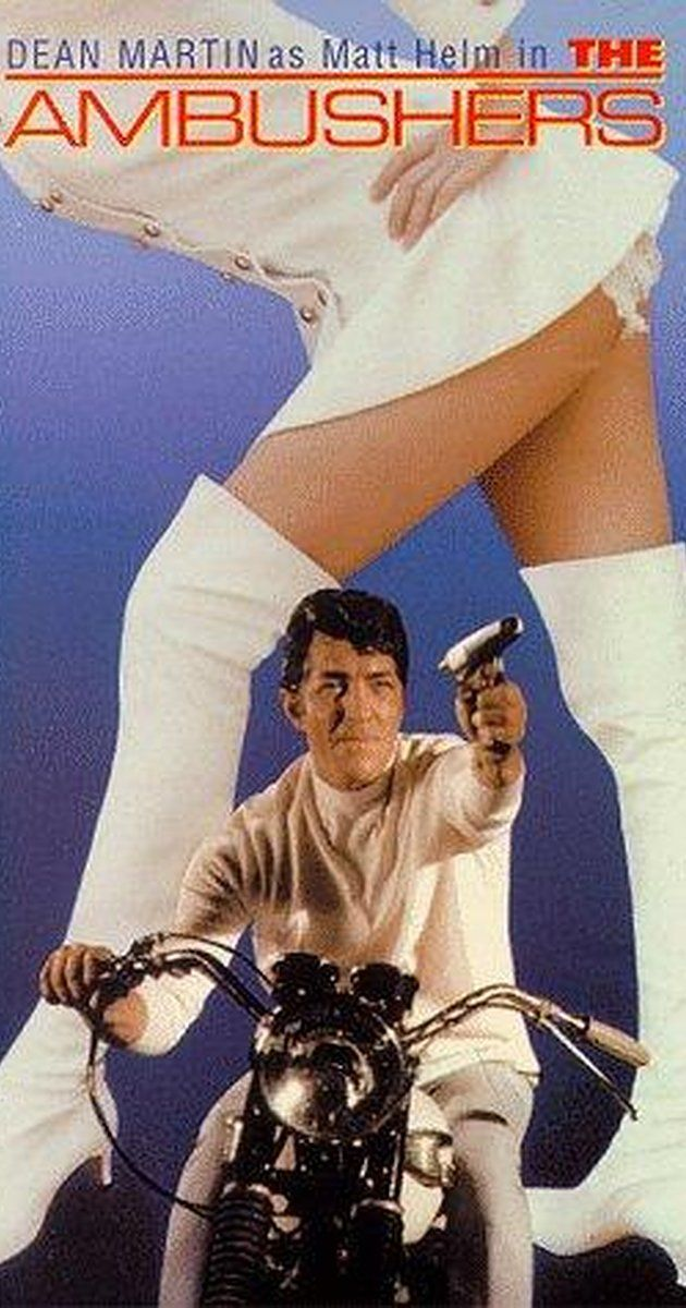 Directed by Henry Levin.  With Dean Martin, Senta Berger, Janice Rule, James Gregory. A government space saucer is hijacked mid-flight by a powerful laser beam under the control of Jose Ortega, who then proceeds to rape the female pilot, Sheila Sommars. ICE sends agent Matt Helm to Acapulco with Sheila to recover the saucer, under the guise of Matt taking fashion photographs of beautiful models. Matt is temporarily side-tracked, falling prey to the seductive charms of enemy agent ...