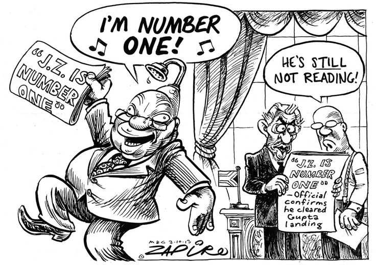 Zapiro: Guptagate's Number One  - Mail & Guardian